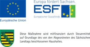 SAB ESF Sachsen Logo