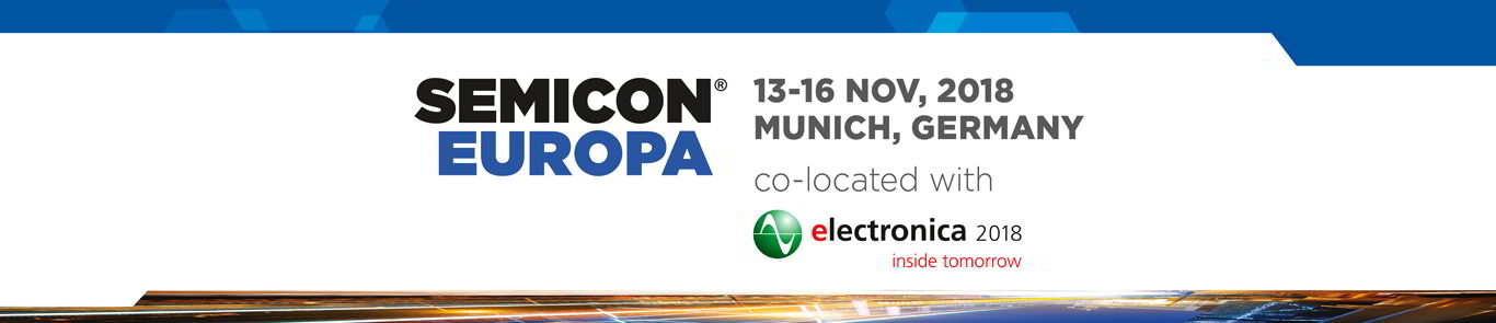 Semicon Europa 2018 Fäthgroup (Fäth, HighQ, IQ)